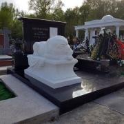 Фото скульптуры на кладбище. Купить скульптуру в Киеве, можно со склада памятников ЧП Прядко сегодня.