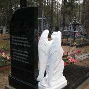 Фотографии скульптуры. Цена ритуального комплекса со скульптурой, под ключ 66 тыс. грн.