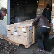 Сопровождение упаковки груза специальной документацией и маркировкой позволяет с первого взгляда определить тип скульптуры и обеспечить её дальнейшую безопасную транспортировку по Украине.
