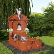 На фото 3D проект памятника. Изготовление 3d дизайна памятника в Киеве, за 3дня. Цена 3D проекта памятника 1 тыс. грн.