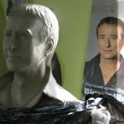 Фото портрета перед переводом в бронзу. Изготовление портретов из бронзы в Киеве. Цена бюста из бронзы $5,9 тыс.
