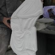 Новый барельеф из мрамора Sivec фото. Размеры барельефа из мрамора: высота барельефа для памятника 80 см., ширина барельефа 40 см., глубина барельефа 6 см. стоимость барельефа из мрамора $1,3 тыс.