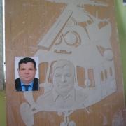 Фото изготовления барельефа в цеху. Изготовление бронзового барельефа для памятника. Цена барельефа для памятника $3,5 тыс.