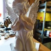 Ангел из полимера. Стоимость ангела из полимера - 2,5 тыс. грн.