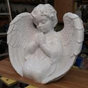 Фото скульптуры из полимера. Купить ангела из полимера - можно в Магазине Ритуальной скульптуры в Киеве.
