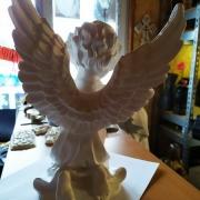 Скульптура ангела из полимера. Заказать ангела из полимера - можно с сайта: https://www.prjadko.kiev.ua