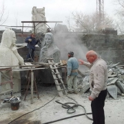 Изготовление фигуры из гранита. Заказать скульптуру из гранита, можно в Магазине Ритуальной скульптуры в Киеве.
