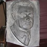 Модель для отливки в бронзе. Фото после изготовления формы для литья в бронзе. Изготовление качественной скульптуры в Киеве. Стоимость барельефа, от $ 3 тыс.
