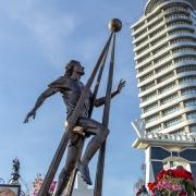 На фото скульптура из бронзы. Изготовление бронзовой скульптуры - цех ЧП Прядко в Киеве.