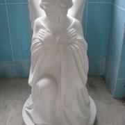 Скульптура ангела. Высота ангела - 85 см. Стоимость ангела - доступна.