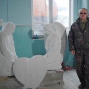 Ангелы для  памятника. Фото ангелов в ритуальный комплекс. Изготовление скульптуры ангелов под заказ в Киеве.