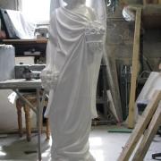 Скульптура ангела для памятника. Высота скульптуры ангела: 105 см. Купить скульптуру ангела, можно со склада в Киеве.