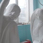 Фото скульптуры ангелов. Изготовление скульптуры ангелов на заказ. Цена скульптуры ангелов - согласно проекта памятника.