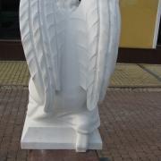 Скульптура ангела фото. Высота скульптуры ангела - 85 см. Цена ангела - доступная.