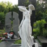 Мраморная статуя на Байковом кладбище. Галерея скульптуры из белого мрамора на сайте компании ЧП Прядко. Продажа мраморной скульптуры в Киеве сегодня; качественная скульптура с гарантией 10 лет.