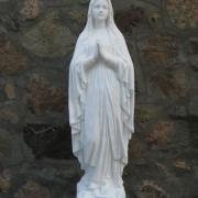 Статуя Божьей Матери из бетона, высота скульптуры из бетона 130 см., цена статуи 29 тыс. грн. Есть в наличии на складе, фото в каталоге ангелов смотрите на страницах сайта ЧП Прядко.