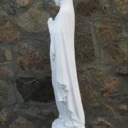 Скульптура Божьей Матери из бетона, высота скульптуры 130 см., стоимость статуи 29 тыс. грн. Имеется в наличии на складе в Киеве.
