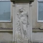 Монументальная скульптура девушки. Фото скульптуры после изготовления. Качественная скульптура в Киеве под заказ, от профессионалов в Киеве.