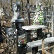 На фото ангел из камня; размеры ангела из камня - 90 х 50 х 40 см. Цена скульптуры из камня - от $ 3 тыс.