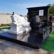 Фото скульптуры льва на кладбище. Собственное производство скульптуры в Киеве сегодня.