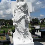 Мраморная скульптура ВИП класса, фото готовой скульптуры на Южном кладбище. Изготовление VIP скульптуры из мрамора в Киеве сегодня с гарантией 10 лет. Стоимость скульптуры, согласно проекта.