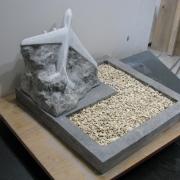 Разработка модели памятника. Создание рабочей модели памятника из гипса - 3 дня.
