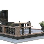 Создание индивидуального 3d проекта гранитного комплекса в Киеве, цена 1 тыс. грн. Авторское изготовление 3D проектов памятников в Киеве по доступной стоимости сегодня.