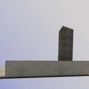 Фото 3д модели памятника. Доступная цена 3д проекта мемориального комплекса 1,2 тыс. грн. Производство памятников под заказ в Киеве.