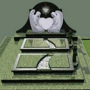 Проект памятника. Создание проекта памятника - до 3х рабочих дней. Цена проекта памятника - доступная.