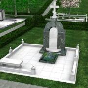На фото 3д дизайн памятника, изготовление качественных 3D проектов в Киеве за три дня. Заказ на изготовление модели дизайна будущего ритуального комплекса, можно оформить в офисе ЧП Прядко. Цена 3D проекта памятника 1 тыс. грн.