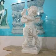 Ангел из белого мрамора Каррара, высота 60 см., цена $3600.
