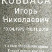Шрифт для памятника глубокий с прокраской букв.