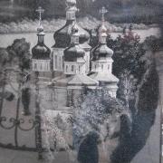 На фото пейзаж для памятника. Размер картины на памятнике - 60 х 90 см. Стоимость картины на памятнике - 3700 грн.