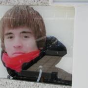 Фото портрета в стекле. Размер мужского портрета - 25 х 35 см. Цена мужского портрета в стекле: 3600 грн.