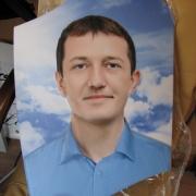 Портрет мужчины для памятника. Размер портрета на памятник: 40 х 60 см. Цена портрета мужчины на камне 5 тыс. грн.
