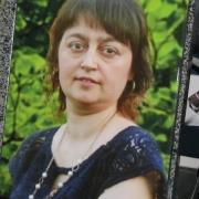 Фото женщины для памятника. Размер портрета для памятника: 30 х 40 см. Цена портрета на памятник - 4 тыс. грн.