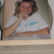 Женский портрет на памятник. Размер портрета на памятник: 35 х 45 см. Цена портрета женщины - 3,8 тыс. грн.
