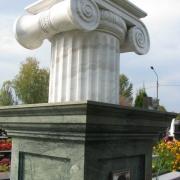 Реставрация мраморных колонн