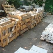 Реставрация мраморных балясин