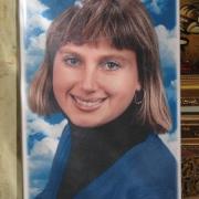 Табличка на керамограните, размер 20 х 30 см. Цена таблички 450 грн., срок изготовления 10 дней. Изготовление ритуальных табличек в Киеве с гарантией 10 лет.