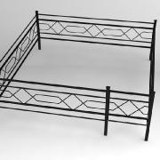 Новоизготовленные металлические ограды в нашем цеху