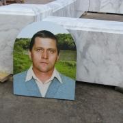 На фото мраморный цоколь из бруса, после изготовления в цеху. Купить готовый цоколь из белого мрамора сегодня, можно на складе в Киеве. Продажа мраморного бруса для цоколя, ежедневно в рабочие дни.