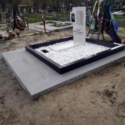 Фото крошки из мрамора. Оформить цоколь на кладбище мраморной крошкой.