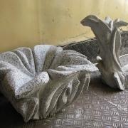 Вазы из гранита, ритуальные шары