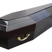 Купить лакированный гроб в Киеве. Продажа гробов круглосуточно по цене 4900 грн.