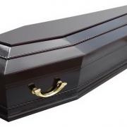 Купить лакированный гроб в Киеве. Цена гроба 4900 грн. Круглосуточная продажа гробов в Киеве по приемлемой цене.